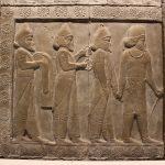 バビロニアの世界図は世界最古の世界地図で、円盤型世界観が反映されている