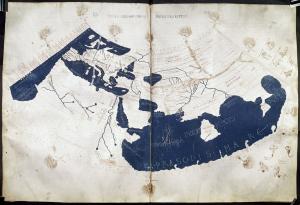 プトレマイオスの世界図